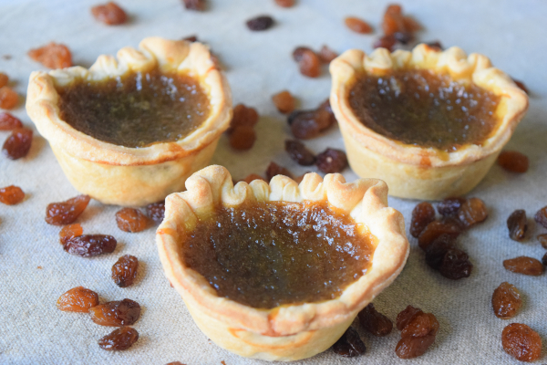 Raisin Butter Tart